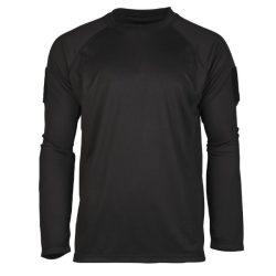 Mil-Tec Quick Dry taktikai póló - fekete