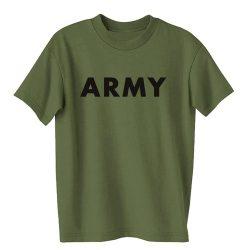 M-Tramp Army póló - military-zöld