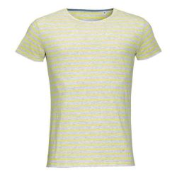 Sol's Miles T-Shirt - yellow/grey