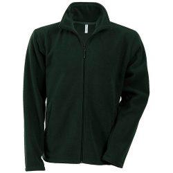 Kariban Falco micro fleece bunda - lesná zelená