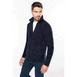 Kariban Falco mikro fleece dzseki - fekete