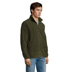 Sol's mikro fleece dzseki - army-zöld