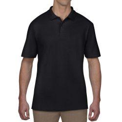 Anvil piké póló - fekete S