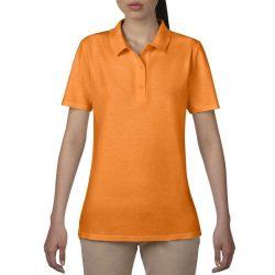Anvil női piké póló - mandarin