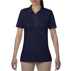 Anvil női piké póló - kék