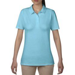 Anvil női piké póló - világoskék