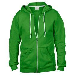 Anvil kapucnis pulóver - almazöld