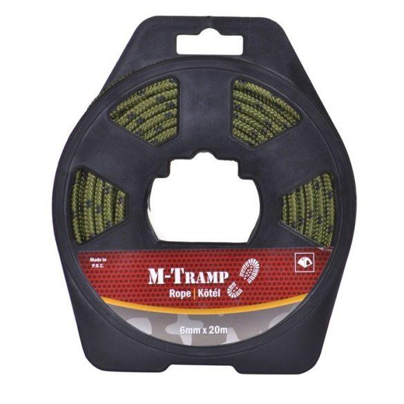 M-Tramp kötél - zöld 6 mm x 20 m