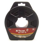 M-Tramp kötél - fekete 6 mm x 20 m