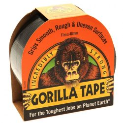 Gorilla páska samolepiaca - čierna