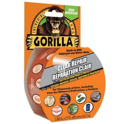 Gorilla banda adeziva - transparent