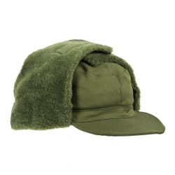 Svéd M59 szőrmés sapka - zöld