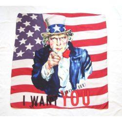 Uncle Sam selyemkendő