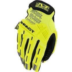 Mechanix Hi-Viz M-Pact kesztyű - sárga