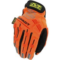 Mechanix Hi-Viz M-Pact gloves - orange