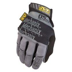 Mechanix Specialty 0,5mm Hi-Dexterity kesztyű - szürke