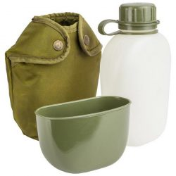 Norwegian M75 Canteen With Cup (used)