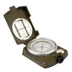 M-Tramp Army kompas precíz kovový - zelená