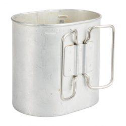 Svájci alumínium evőcsésze (használt)