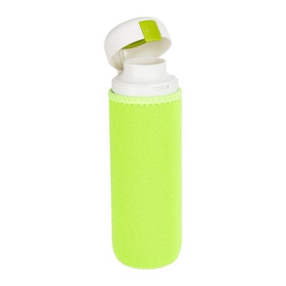 Kulacs neoprén tokkal - uv zöld