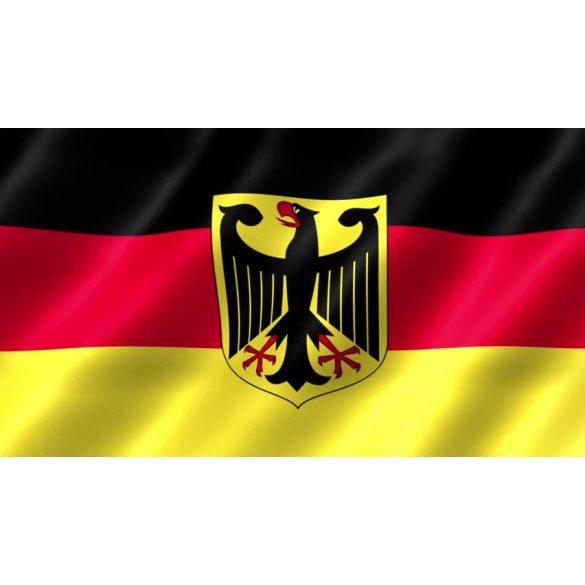 Németország címeres zászló