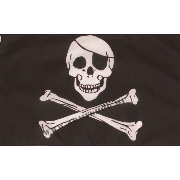Félszemű koponya zászló