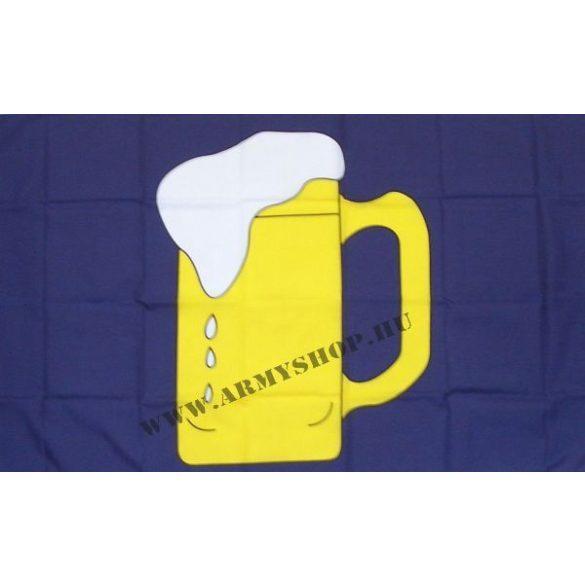 Korsó sör zászló