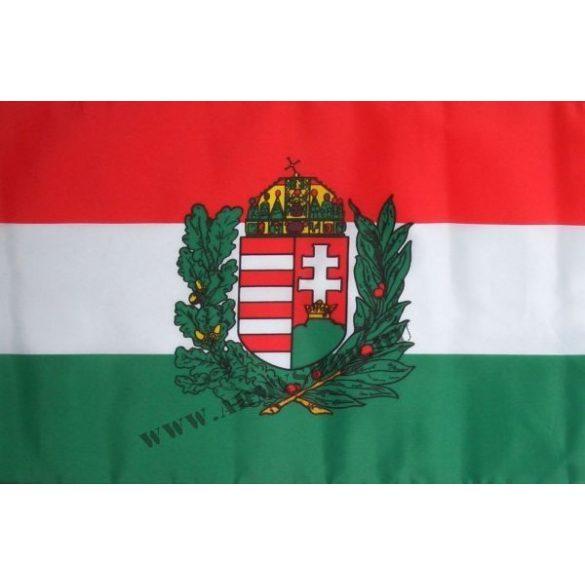 Magyarország címeres (olajágas) zászló