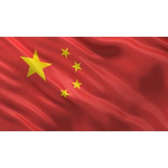 Kína zászló
