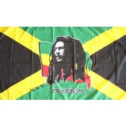 Bob Marley Freedom zászló