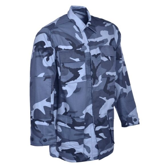 M-Tramp BDU field jacket - blue-camo S