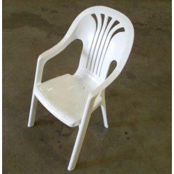 Kerti háttámlás szék