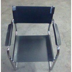 Műbőr karfás szék